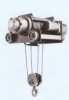 Japanese electric single-track steel-cable hoist (2~?-ton)