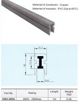 I-type insulated safety power rail