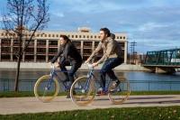 EXTRA+ 700C fixed-gear bike