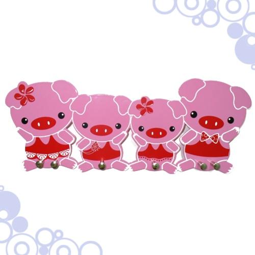 粉紅豬門後掛鉤