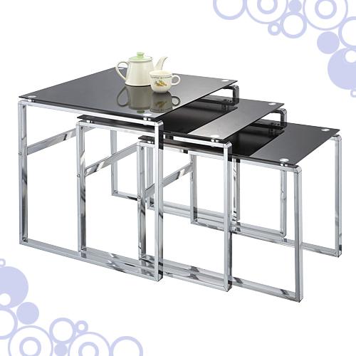 玻璃三套桌