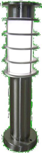Hybrid solar garden light