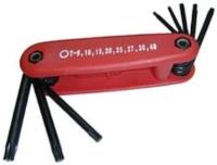 8-Pc Fold-Up Torx Wrench Set