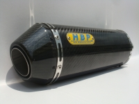 Carbon-fiber exhaust (300L) + carbon fiber flanged end