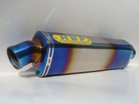 Fully sintered titanium exhaust (350L) + sintered titanium outlet