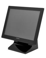 15寸全平面铝合金POS触控显示器