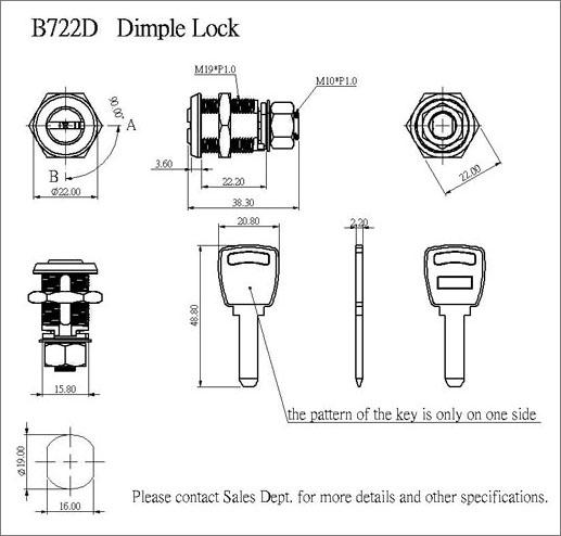 Dimple Lock