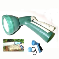Plastic Shower Head Pistol Grip Hose Nozzle