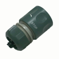 1/2 Plastic auto shut off hose repair connector