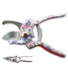 Flower Pattern Printing By Pass Pruning Shears