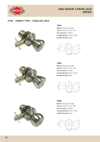 Cens.com ANSI 3 Knob Lock ZENITH METAL IND. CO., LTD.