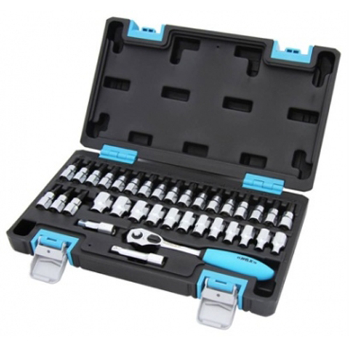 SOCKET&SOCKET BIT METRIC 35PC SET