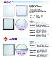 6×6 Led Flat Panel Light Series