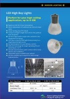 100W COB LED HIGH BAY LIGHT