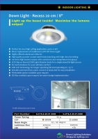 Cens.com 40W COB LED 20CM DOWN LIGHT GREEN LIGHTING SOLUTIONS INC.