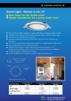 19W COB LED 15CM DOWN LIGHT