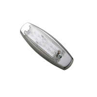 LED Clearance Side Marker (Amber light/ clear lens)