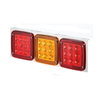 LED Truck Tail Lights Rear Light (L Shape Red/Amber/Red)