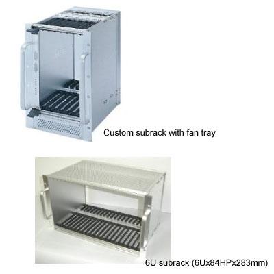 3U, 4U, 6U, 9U Subrack