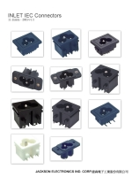 Power inlet (JR-307 series)