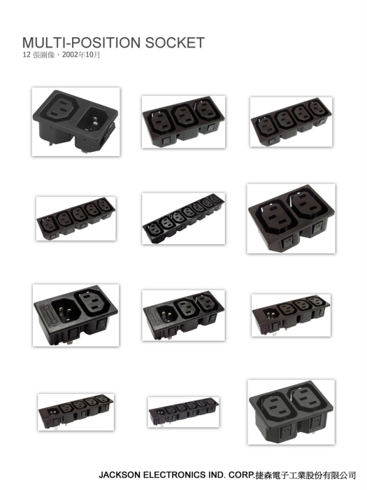 Multi-position socket