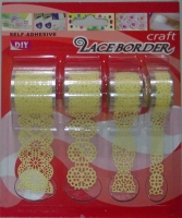 Cens.com PVC Lace Border Tape 3D PAPER ART INTERNATIONAL CO.,LTD.