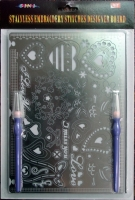 Stainless Embroidery Stitches Designer Board