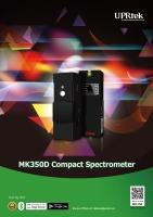 MK350D 手持式分光光谱计