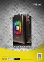 MK350N Premium 工业用LED量测研究分光光谱计