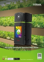 Cens.com PG100N Handheld Spectral PAR Meter UNITED POWER RESEARCH TECHNOLOGY CORP.