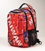 Taiwan Flag Series Large Computer Backpack
