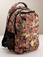 彩蝶飛舞系列小尺寸基本款電腦後背包