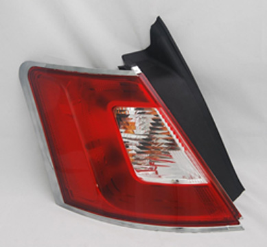 Drivers Taillight Tail Lamp with Chrome Trim Replacement for Ford BG1Z13405A