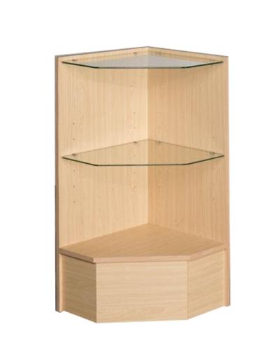 五角玻璃柜