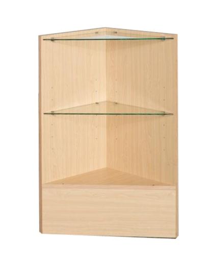 三角玻璃柜