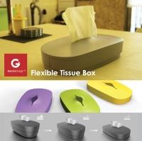 伸縮面紙盒