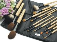 O`ICHE Make-up Wood Brush Set 15PCS