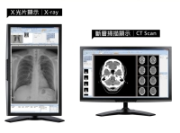 "21.5""  Medical-Grade Calibrated Display"