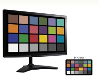 "21.5""  Professional-Grade Calibrated Display"