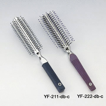 Roll Hair Brush w/half Roll Hair Brush