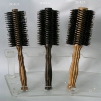 Wood Handle Hairbrushes