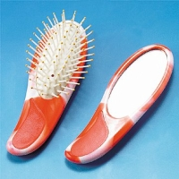 Mini Hairbrush & Mirror Set