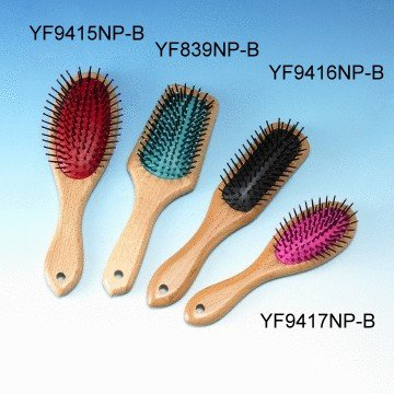 Wooden Cushion Hairbrushes