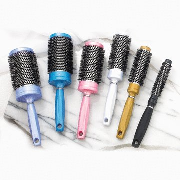Hot Curling Hairbrushes