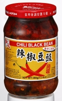 Chili Black Beans (Spicy Fermented Black Beans)
