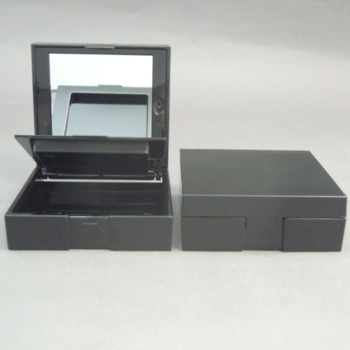 Foundation container with LED light
