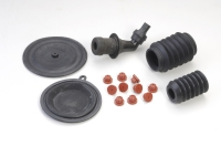 Rubber parts, engine bushings