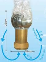 污水专用不锈钢龙卷式曝气球