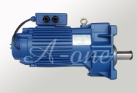 Gear motor for end carriage
