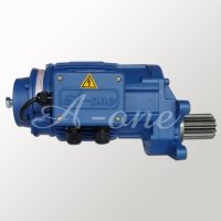 Gear motor for trolley